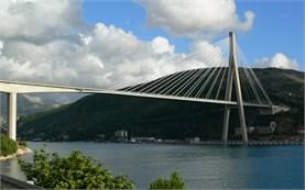 Дубровник - Мостът Франьо Туджман