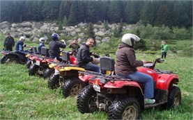 Escorted ATV tours in Borovets