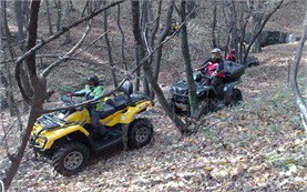 Escorted ATV tours in Bulgaria