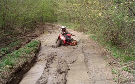Extreme ATV ride in Bulgaria