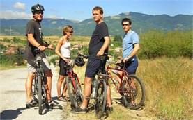 Экскурсии с гидом на велосипеде в Болгарии