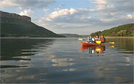 Guided kayak tours