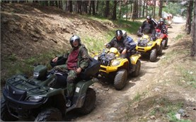 Guided QUAD tours in Bulgaria