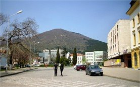 Hadzhi Dimitar Square in Sliven