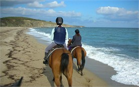 Horseback riding - Black sea