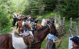 Походи с коне в България
