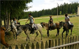 Horseback riding in the Rhodopes
