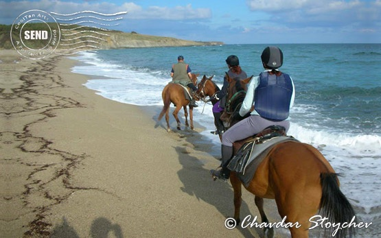 Horseback riding - Black Sea coast