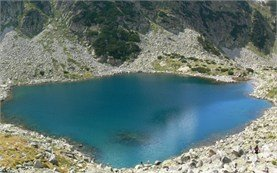 Icy lake - Rila mountain