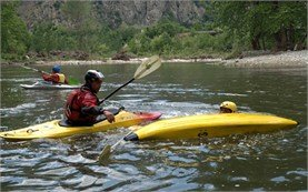 Kayak school in Bulgaria