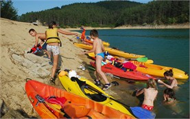 Kayaking for children in Bulgaria
