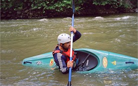 Kayaking lessons in Bulgaria