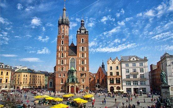 Краков, Полша Базиликата
