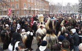 Кукерски фестивал в Перник - България