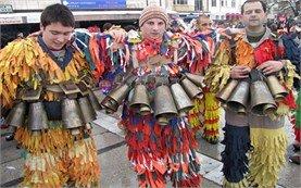 Kukerski festival in Pernik