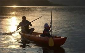 Lake canoeing - Kardzhali lake