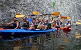 Lake kayaking - Studen Kladents