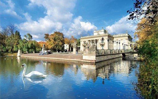 Парк Лаженки - Варшава