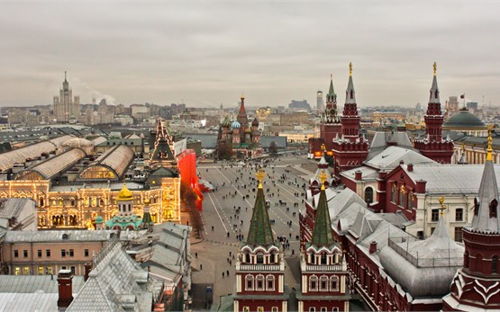 Moscow - Red Square Kremlin