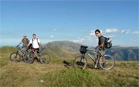 Горный велосипед в Болгарии