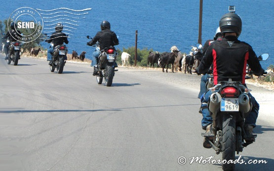 On the road to Ksamil, Albania