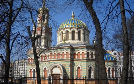 Iglesia ortodoxa en Lodz Polonia