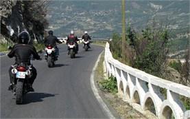 The road to Tirana, Albania