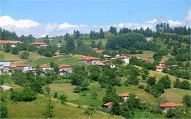 Panorama of the village of Gela