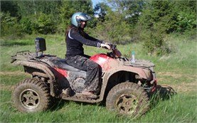 People on ATV tours in Bulgaria
