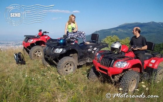 People on Quad tours in Bulgaria
