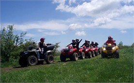 People on tours - ATV adventure