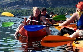 People on tours - canoe and kayaking