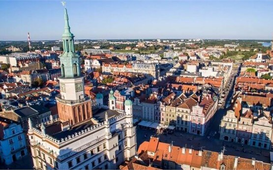 Poznan Poland - old town