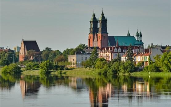 Poznan Poland - river