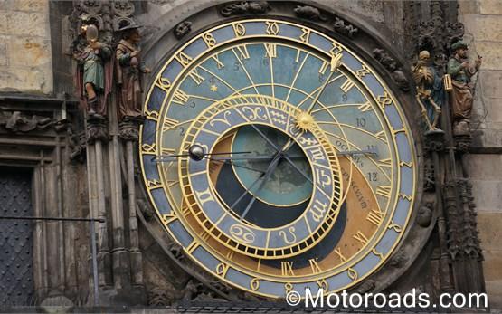 Прага Чехия Астрономически часовник