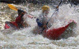 Rafting in Bulgaria