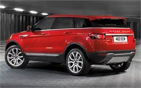 Rear view » 2015 Range Rover Evoque