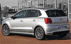 Rear view » 2014 Volkswagen Polo 1.2 AUTO