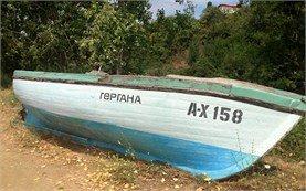 Лодка - деревня резово