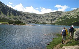 Rila mountains - Smradlivo lake