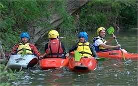 River kayak school - Bulgaria