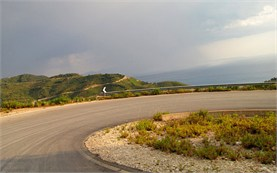 Serpentine road - Albania