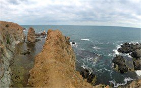 Rocky coast of Rezovo - Bulgaria