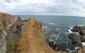 Скалистый берег Резово - Болгария