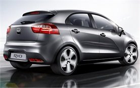 Side view » 2016 KIA RIO