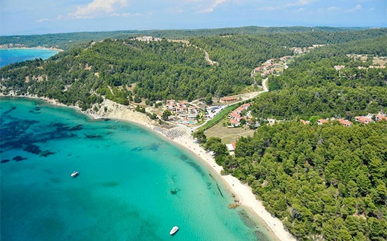 Siviri - aerial photo, Halkidiki