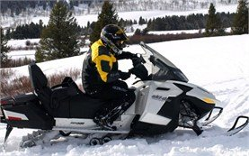 Ski-doo snowmobile rental in Europe