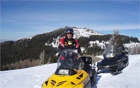 Snowmobile hire in Borovets