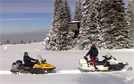 Snowmobile hire in Bulgaria