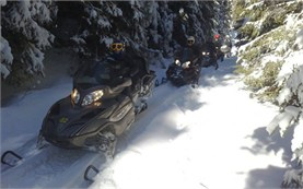 Snowmobile rental in Bulgaria